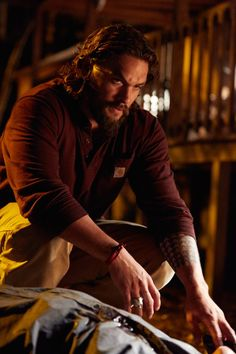 Pin for Later: Just 32 Really Hot Pictures of Jason Momoa From Movies and TV The Red Road They can't teach that kind of fierceness.
