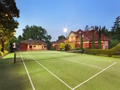 Tennis court - like the set up, not grass though