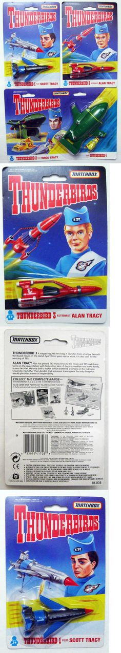 Gerry Anderson Shows 165948: 1992 Matchbox Gerry Anderson Thunderbirds 1 2 3 And 4 Vehicles Die Cast Sealed -> BUY IT NOW ONLY: $35.99 on eBay!