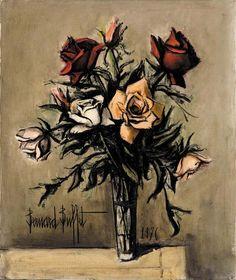 BERNARD BUFFET | Pot de jacinthes | vases of flowers 2114 ...
