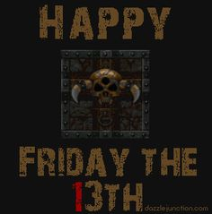 Funny Friday the Images Friday The 13th Quotes, Happy Friday The 13th, Friday Humor, Funny Friday, Happy Everything, Gifs, Invite Your Friends, Horror Art, You Funny