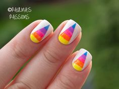 Guest Post at My Awesome Beauty – Rainbow Nails