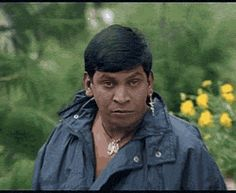 Vadivelu - Terror Look - Tamil Gif