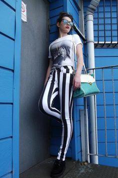 Trend spotting: i always support beetlejuice pants!!!