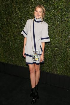 9 Fabulous Outfits You Missed Over The Weekend | The Zoe Report Dree Hemingway At Chanel Dinner