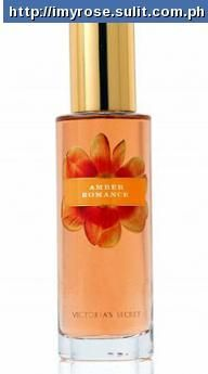 VICTORIA SECRET AMBER ROMANCE  Amber Romance is a warm and alluring blend of black cherry, cr me anglaise, vanilla and sandalwood. It belongs to the Secret Garden collection.  for only P600.00 250mL FREE DELIVERY (IN MANILA AND BULACAN) FOR MORE DETAILS CONTACT 09065840620 or 09323405246