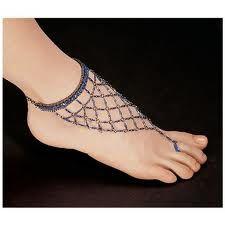 Egyptian Blue Nile Isis Slave Anklet Bracelet/Anklet Bracelet - Set of 2 Slave Bracelet, Anklet Bracelet, Anklets, Bracelet Set, Anklet Jewelry, Foot Bracelet, Crochet Barefoot Sandals, Bare Foot Sandals, Toe Rings