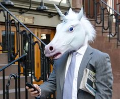 Creep people out while you go about your day with this magical unicorn mask. Perfect for business meetings, first dates, or anywhere there will be lots of eyeballs, the unicorn mask will prove to the world that unicorns are real and you are among their half-breed brethren.