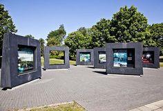 Wystawa plenerowa na Westerplatte. Fot. D. Jagodziński