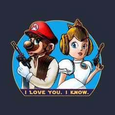 ChetArt 'I Love You. I Know.' design on @TeePublic!