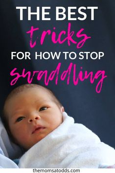 How to Stop Swaddling You Baby! Transitioning out of the swaddle can be a nightmare, but these two methods will help moms make it as easy as possible to get baby sleeping soundly without the swaddle! Help Baby Sleep, Toddler Sleep, Get Baby, Gentle Sleep Training, Sleep Training Methods, Tired Mom, Baby Swaddle, Mom Advice, Everything Baby