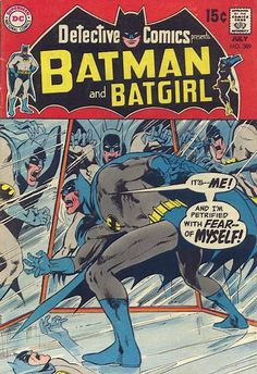 Neil Adams 2nd cover to Detective Comics is the first to showcase the artist's own distintive style.