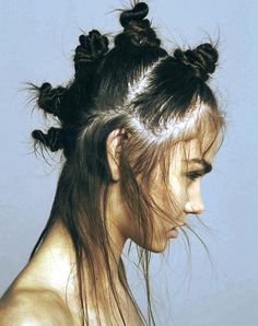 will you ever carry off this hairstyle with multiple top knots?
