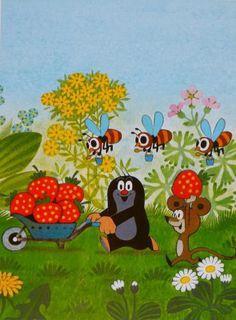. La Petite Taupe, Pink Balloons, Pin Logo, Cross Stitch Kits, Children's Book Illustration, Mole, Beautiful Children, Art For Kids, Character Design