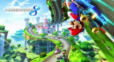 Gamers Up!: Mario Kart 8 (Wii U)