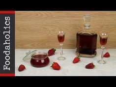 Αρωματικό λικέρ και μαρμελάδα φράουλα | Foodaholics - YouTube Wine Decanter, Barware, Alcoholic Drinks, Pudding, Glass, Desserts, Recipes, Youtube, Food