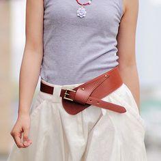 Women's Leather Belt Strap - free shipping worldwide
