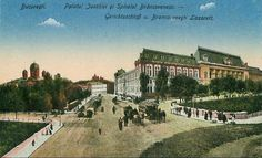 1918 Bucharest, Romania, Amen, Mansions, House Styles, Manor Houses, Villas, Mansion, Palaces