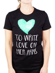 Watercolor Girls Shirt -- Available in the TWLOHA Online Store