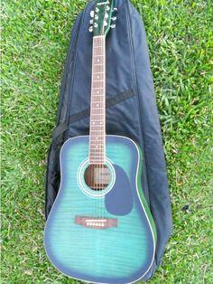 violão elétrico - instrumentos musicais phoenix