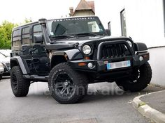 JEEP WRANGLER II 2.8 CRD 200 FAP UNLIMITED SAHARA 2011 Diesel occasion - Coignieres - Yvelines 78