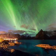 Auroras Taken by Alex Conu on October 31, 2014 @ Hamnøy, Lofoten Islands, Norway