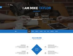 MIKE- html5 responsive template Free Portfolio Template, Responsive Template, To Focus, Templates, Blog, Stencils, Template, Western Food, Patterns