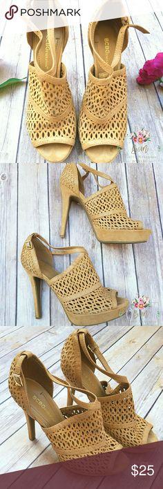 "BCBGENERATION Suede heels In great condition. Worn 3.5"" BCBGeneration Shoes Heels"
