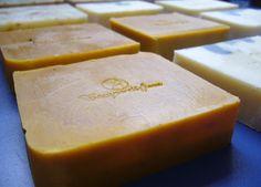 Pastillas de jabón de Campo di fiore después de poner el sello