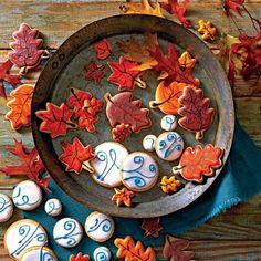 Fall Party Recipes: Pumpkin Pie Cutout Cookies
