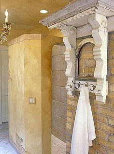 Unique ideas for what to do with architectural corbels