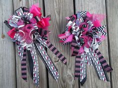 Big Hair Bows for Homecomings Pageants and by ransomletterhandmade, $28.00