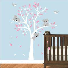 Muursticker Witte Boom.67 Beste Afbeeldingen Van Muurstickers Babykamer