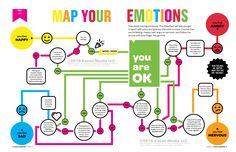 """Kazoo magazine """"Emotions Map"""""""
