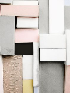 Multi gender colours created by using soft greys to combine the blush pinks and honey yellows