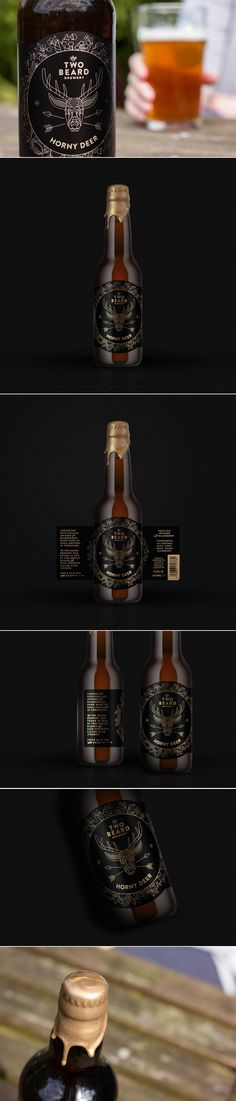 A Re-Vamp Craft Beer Designed for you to Investigate the Horny Deer — The Dieline | Packaging & Branding Design & Innovation News