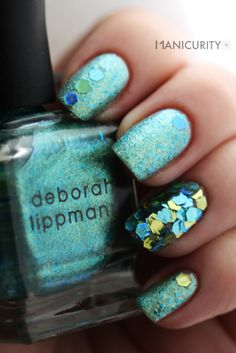 Manicurity: Mermaid's Dream, embellished
