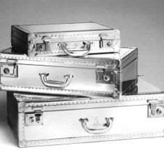 London luxury goods house Dunhill has a retro-futuristic take on travel this season with its new Aluminum luggage collection.