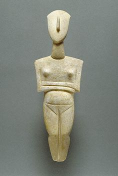Attributed to the Schuster Master  Cycladic, about 2400 BC  Marble