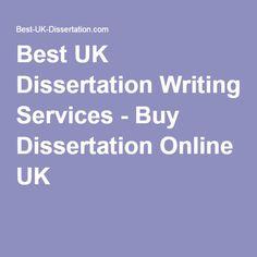 Best UK Dissertation Writing Services - Buy Dissertation Online UK