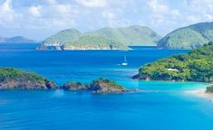 ** British Virgin Islands - This is sailing country hands down!
