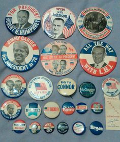 Check out this item in my Etsy shop https://www.etsy.com/listing/292162267/presidential-and-political-collection-of