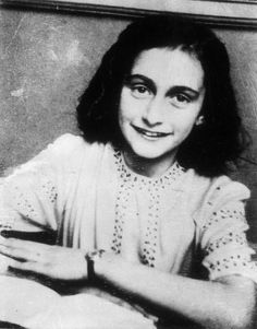 Anne Frank INFP- I remember reading The Diary of Anne Frank and completely identifying with her.