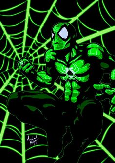 DC's Green Lantern meets MC's Spider-Man