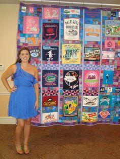 Graduation quilt....