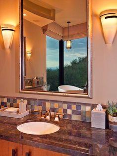 Traditional Bathroom With a Vanity Area : Designers' Portfolio : HGTV - Home & Garden Television
