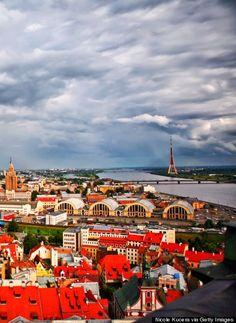 Riga, Latvia is a European Capital of Culture