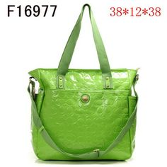 Coach New Julia OP Art Embossed Leather Carryall Green 2979 is on clearance sale, the world lowest price.
