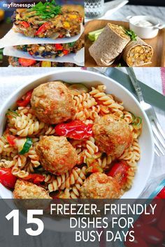 15 Freezer-Friendly Dishes for Busy Days ‹ Hello Healthy