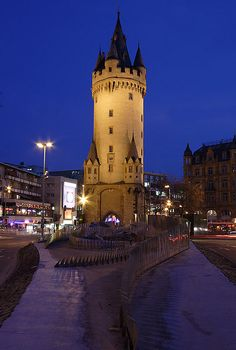 Escenheimer Tor, Frankfurt, Germany